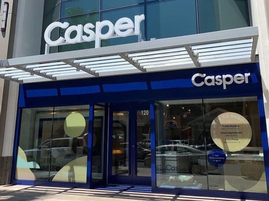 Casper Mattress storefront