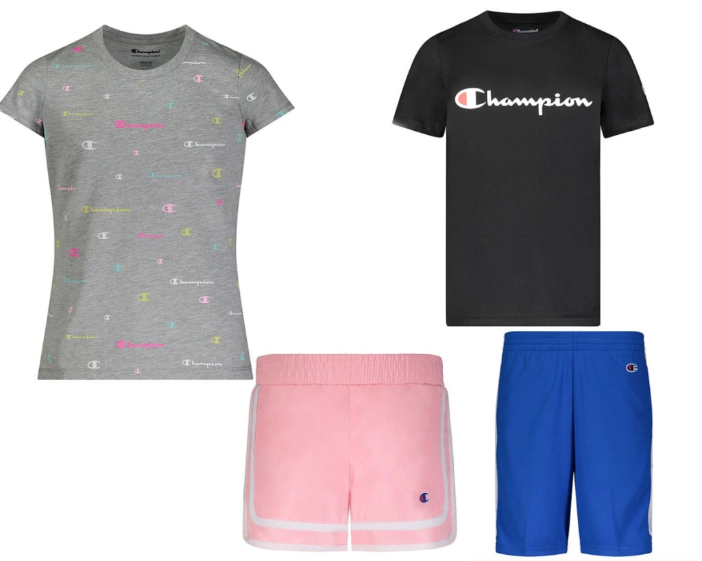 champion kid sets boys and girls styles
