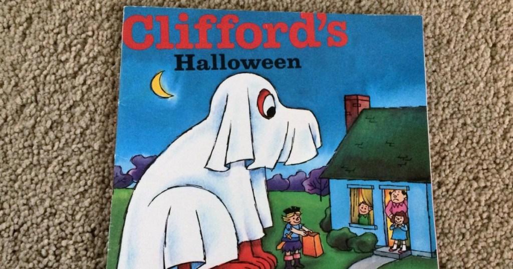 cliffords halloween book