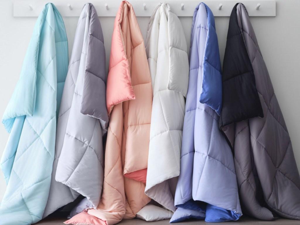 colorful reversible comforter