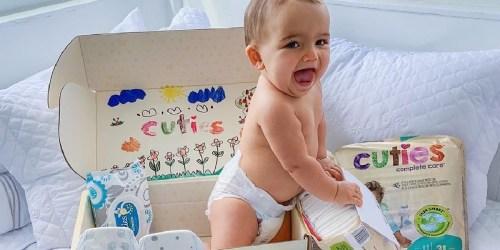 FREE Cuties Baby Diapers Sample | Hypoallergenic & Cruelty-Free
