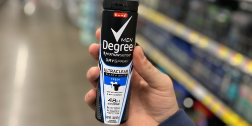 Over $10 Worth of Degree Antiperspirant Coupons Available to Print