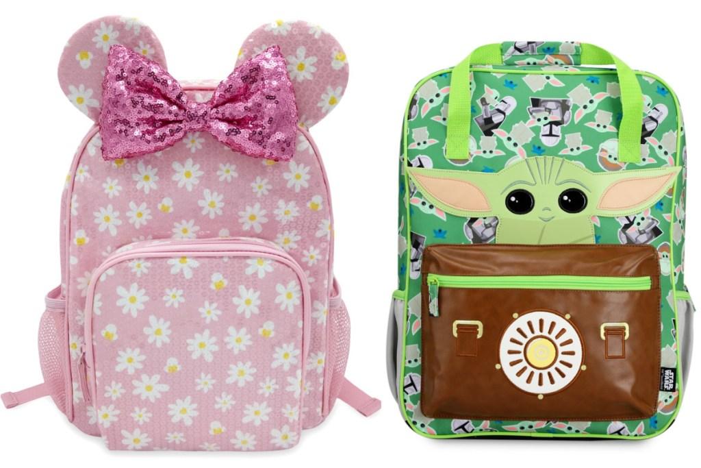 disney and star wars backpacks