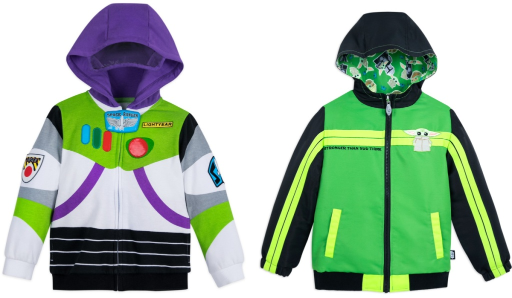 buzz and star wars disney hoodies