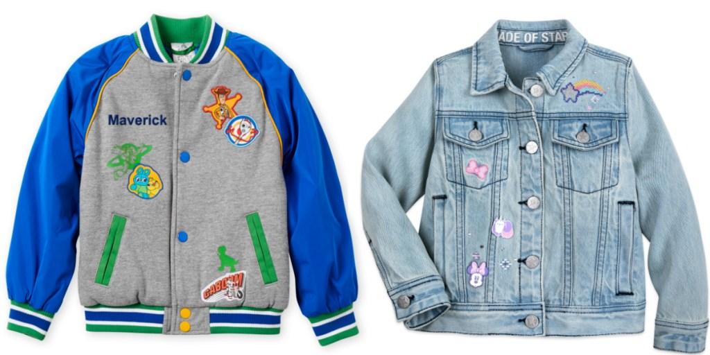 boys and girls disney jackets