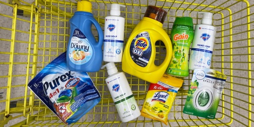*HOT* 9 Household & Personal Care Items Only $7.35 at Dollar General (August 21st Only – Just Use Your Phone)