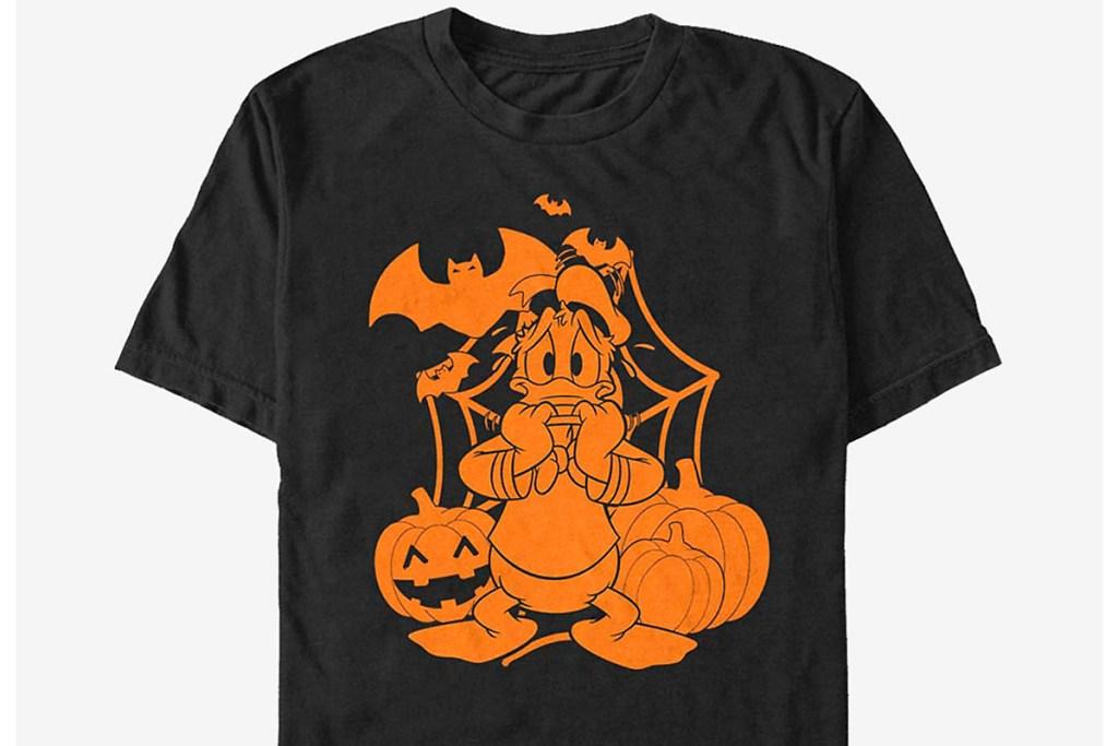 donald duck halloween t shirt