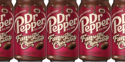 Here's How to Get the New Limited Edition Dr Pepper FANtastic Chocolate Flavor