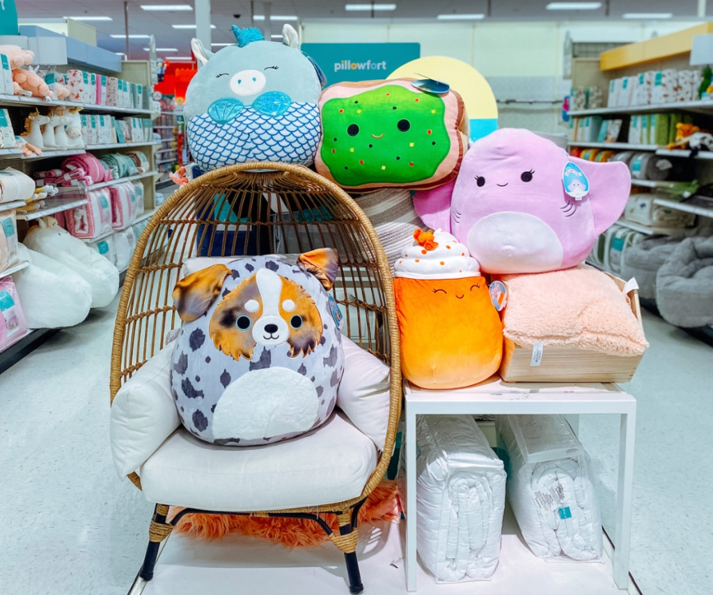 family of Squishmallows