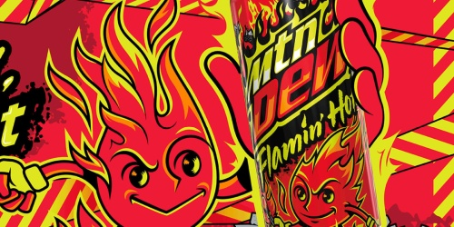 Ready or Not, Flamin' Hot Mountain Dew is Coming!