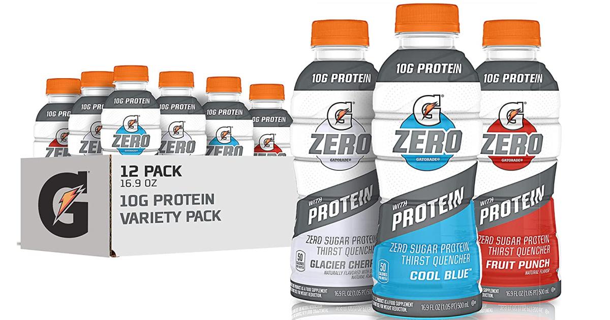 Gatorade zero with protein