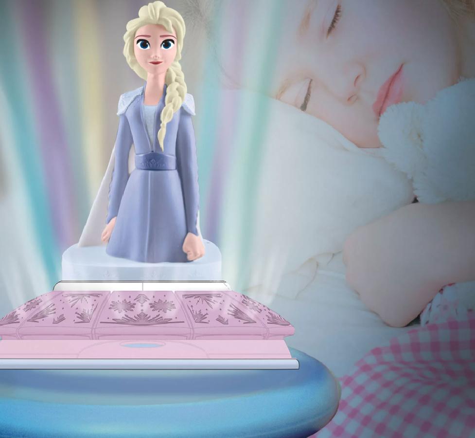 Elsa light up room glow light
