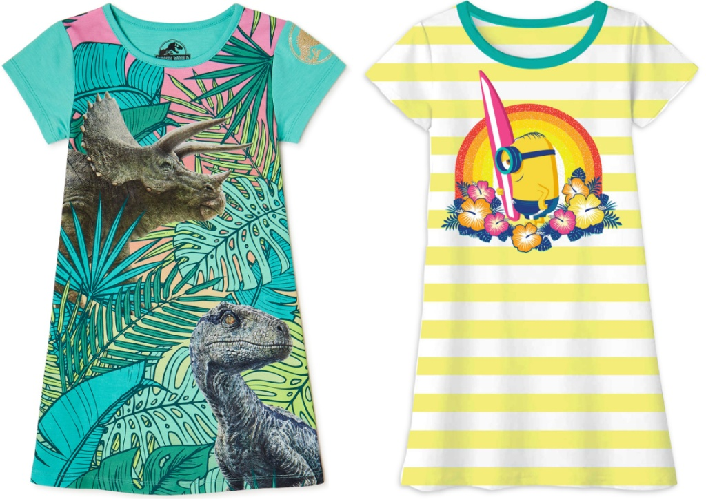 graphic t shirt nightgown
