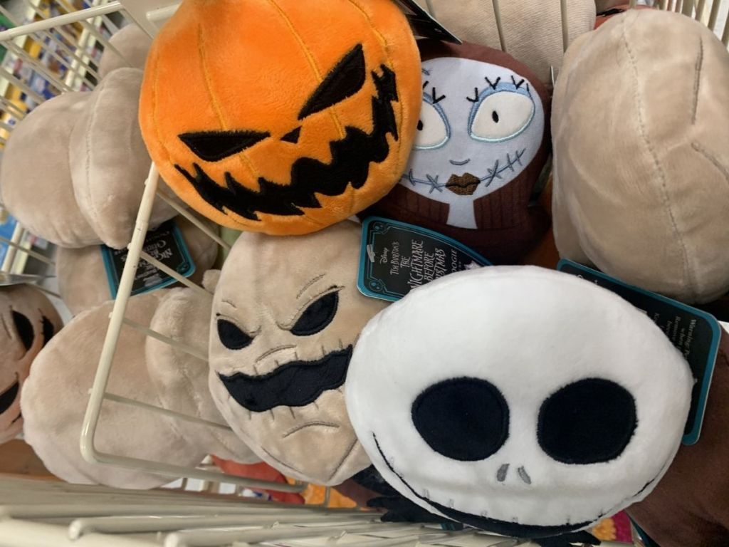 The Nightmare Before Christmas dog toy plushes