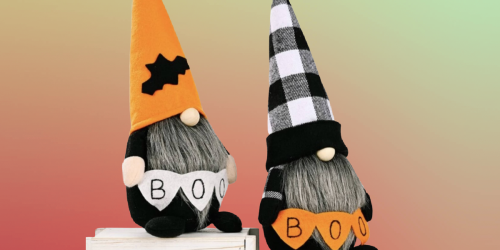 Festive Halloween Gnomes Only $13.99 Shipped (Regularly $25)
