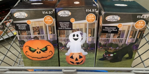 Halloween Inflatables Only $14.97 at Walmart