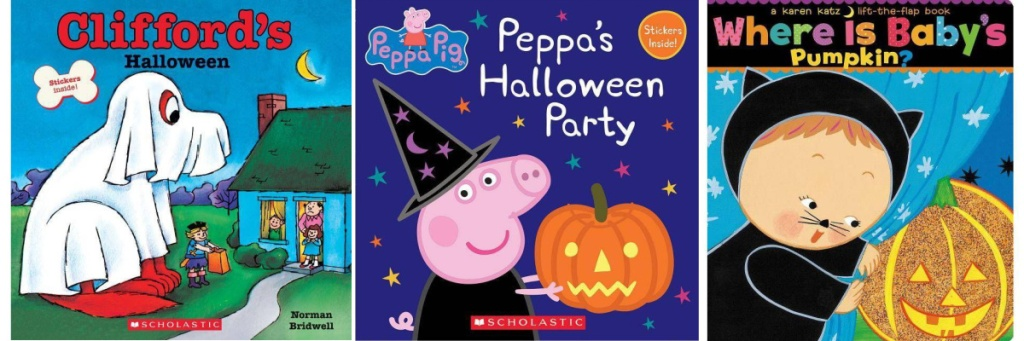 3 halloween kids books
