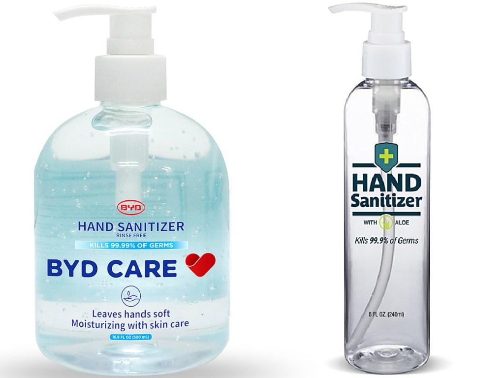 hand sanitzer