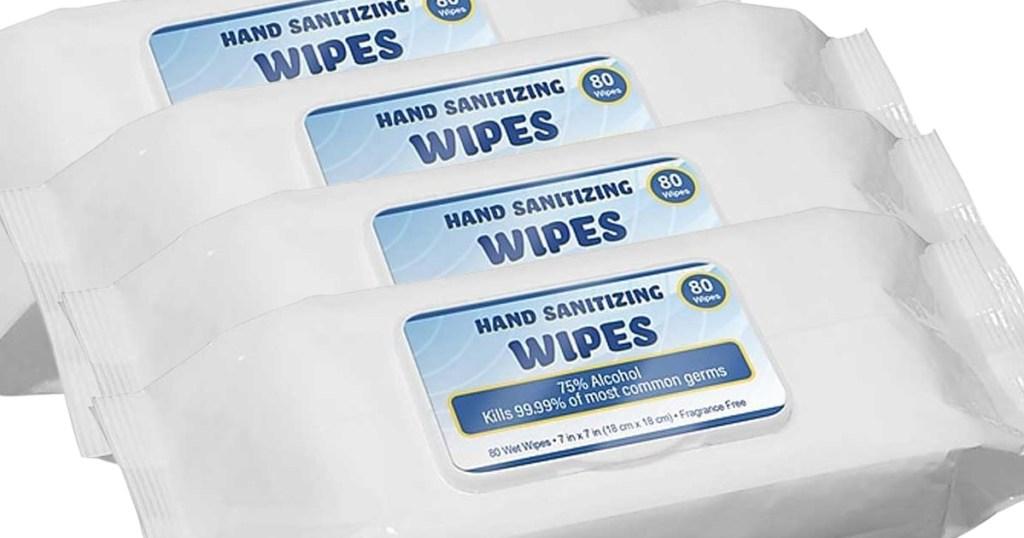 hand sanitizer wipes