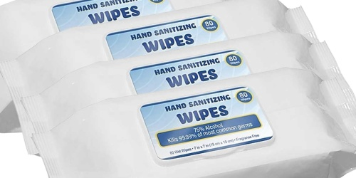 Hand Sanitizing Wipes 80-Count Only 79¢ on Staples.com (Regularly $4)