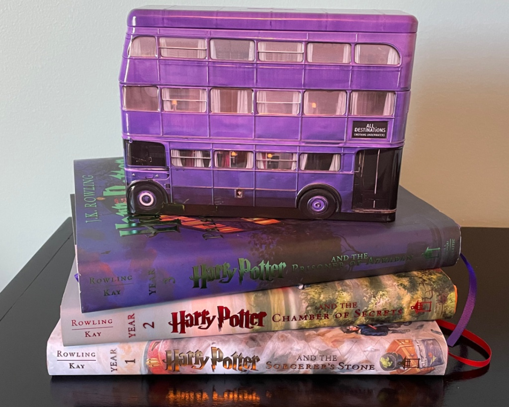 harry potter knight bus on books