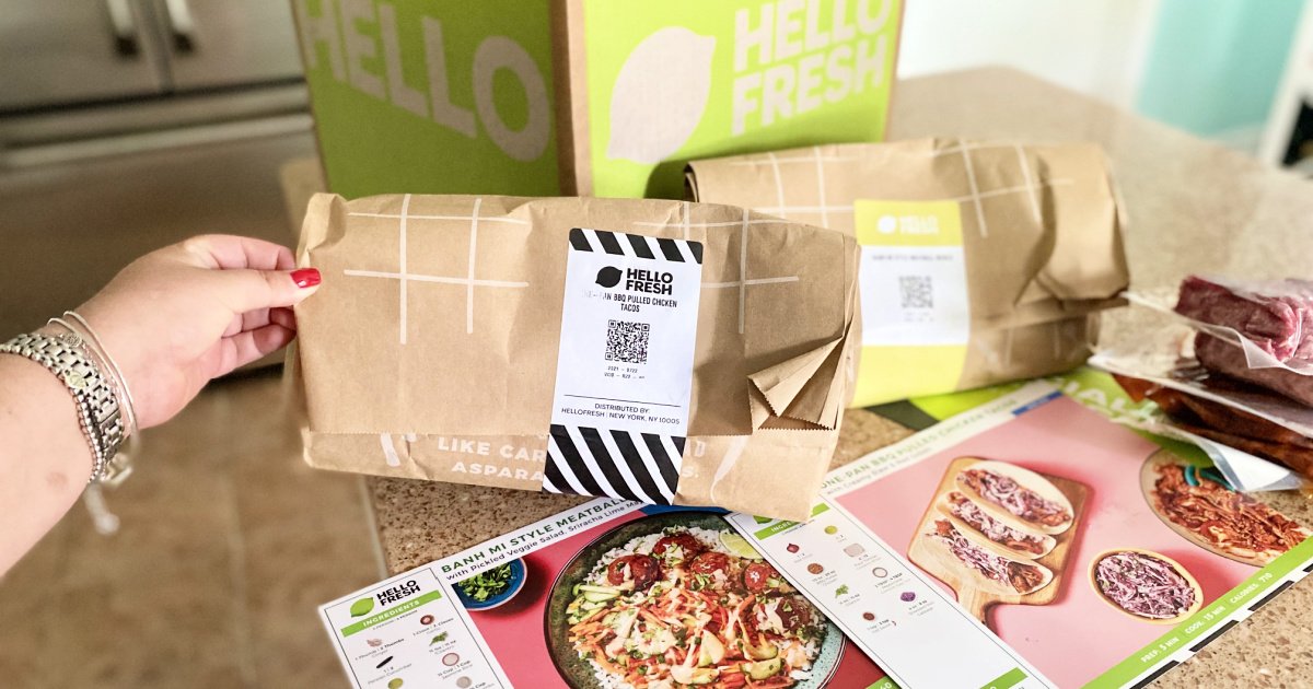 hellofresh meals in bags delivered