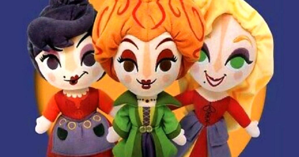 hocus pocus plush dolls