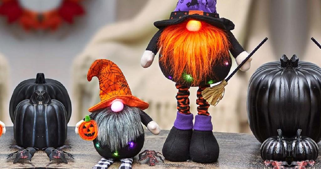 holiday halloween gnomes