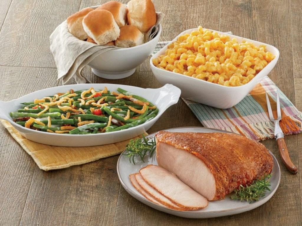 turkey dinner from HoneyBaked Ham