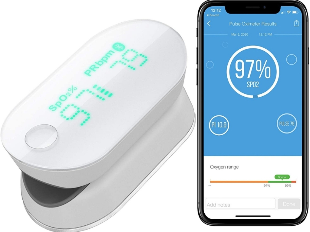 ihealth finger blood pressure monitor