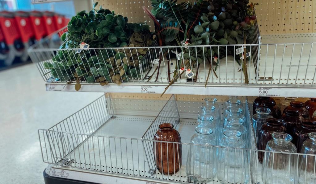 Target fall jars and leaves
