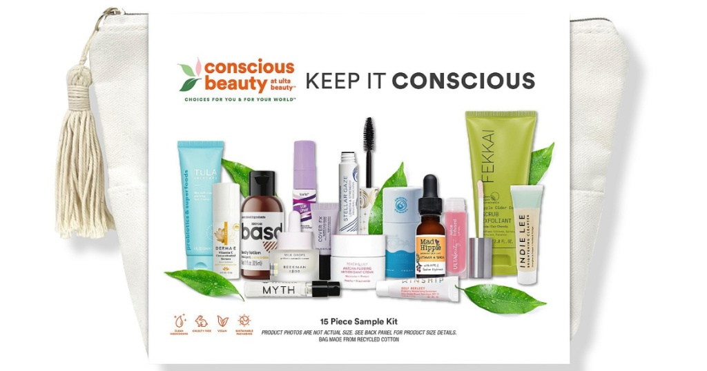 keep it conscious beauty bag at ULTA