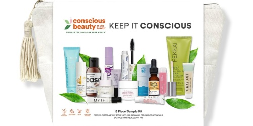 ULTA Conscious Beauty Bag Only $20 ($150 Value!) – Filled w/ 15 Deluxe Samples