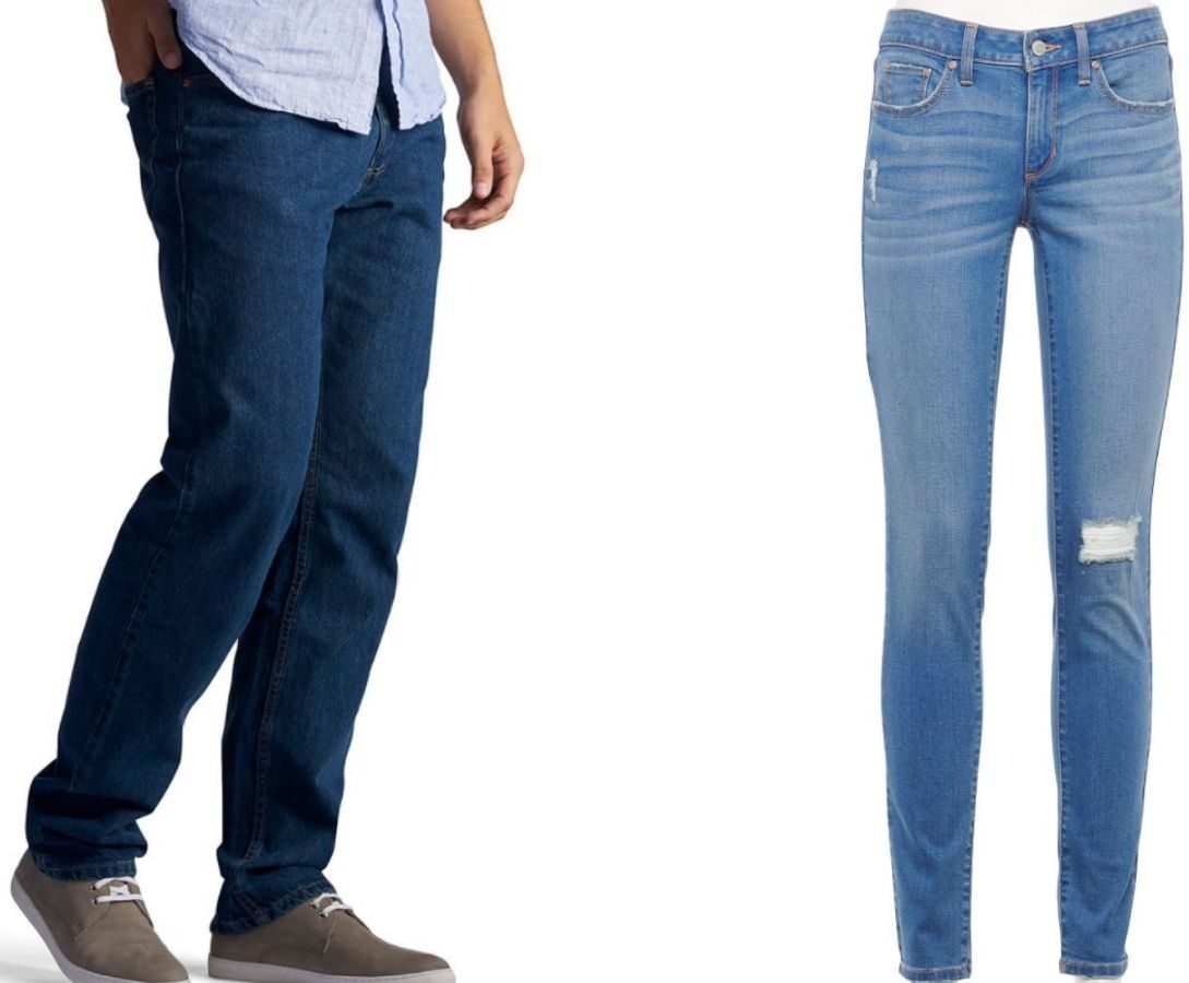 kohl's mens and women's jeans