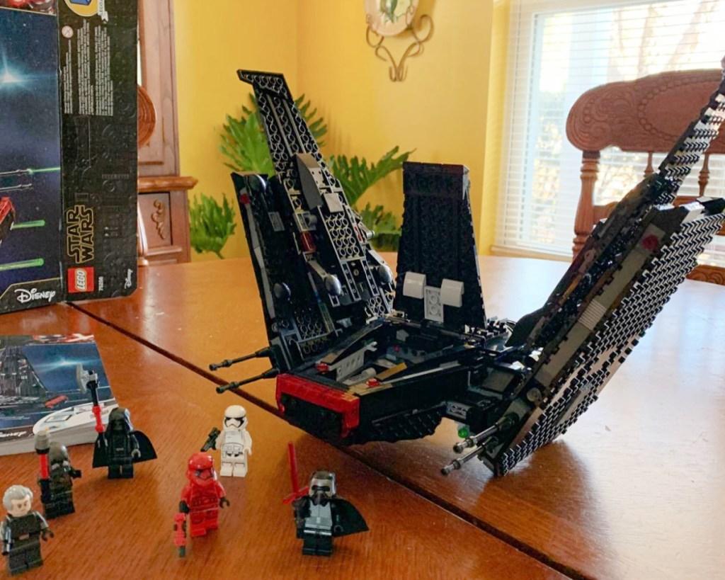 lego kylo ren shuttle