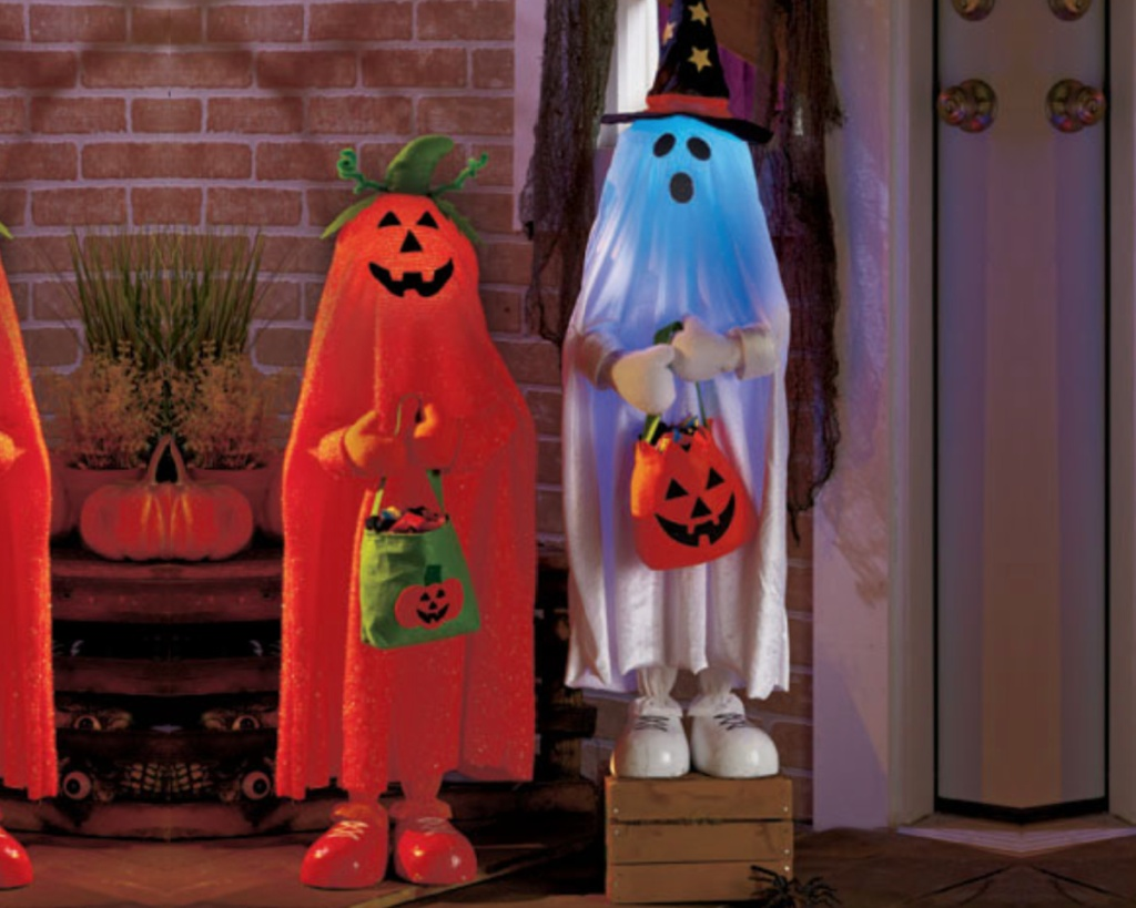 lighted trick or treaters