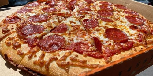 Little Caesars Large Pepperoni or Cheese Pizza Only $5