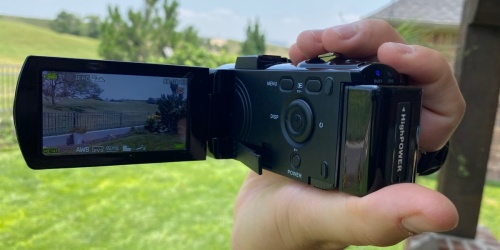 Digital Camcorder w/ 2 Batteries Only $31.99 Shipped on Amazon | Record Video & Capture Images