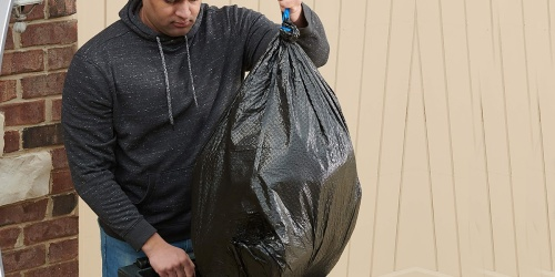 Hefty 30-Gallon Trash Bags 25-Count Just $5.86 Shipped on Amazon (Regularly $10)