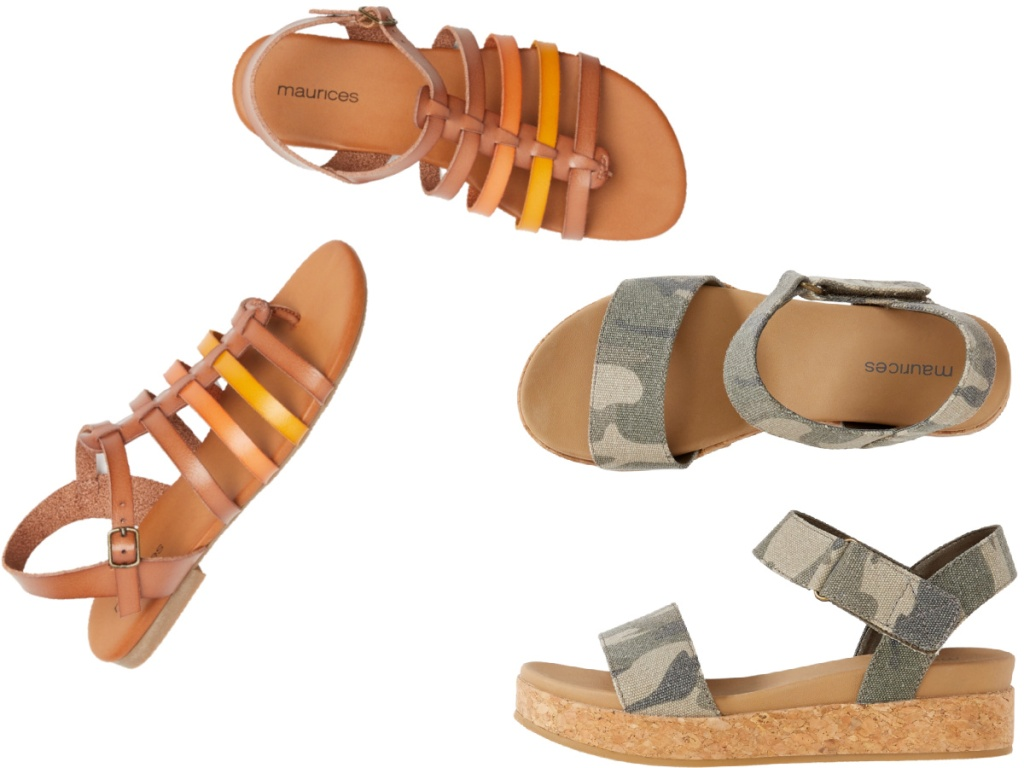 maurices sandals for women