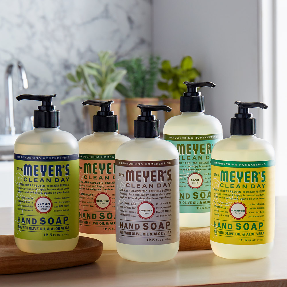 mrs Meyers Hand Soaps