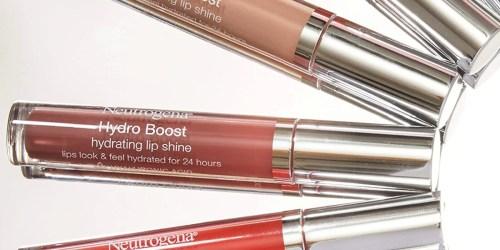 Neutrogena Hydro Boost Lip Gloss Just $2.17 Shipped on Amazon (Regularly $9)