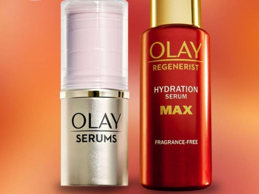 Olay serum and regenerist