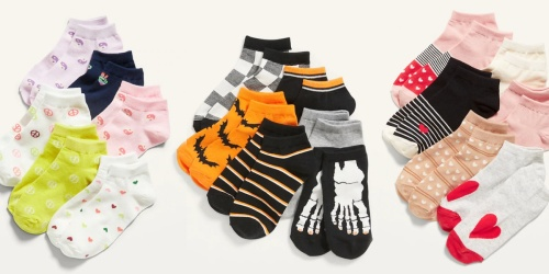 Old Navy Socks & Underwear Sets for Kids from $4.99 (Regularly $10) | Includes Halloween Styles