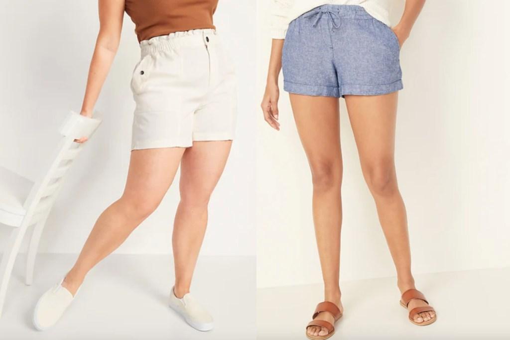 2 pairs old navy shorts