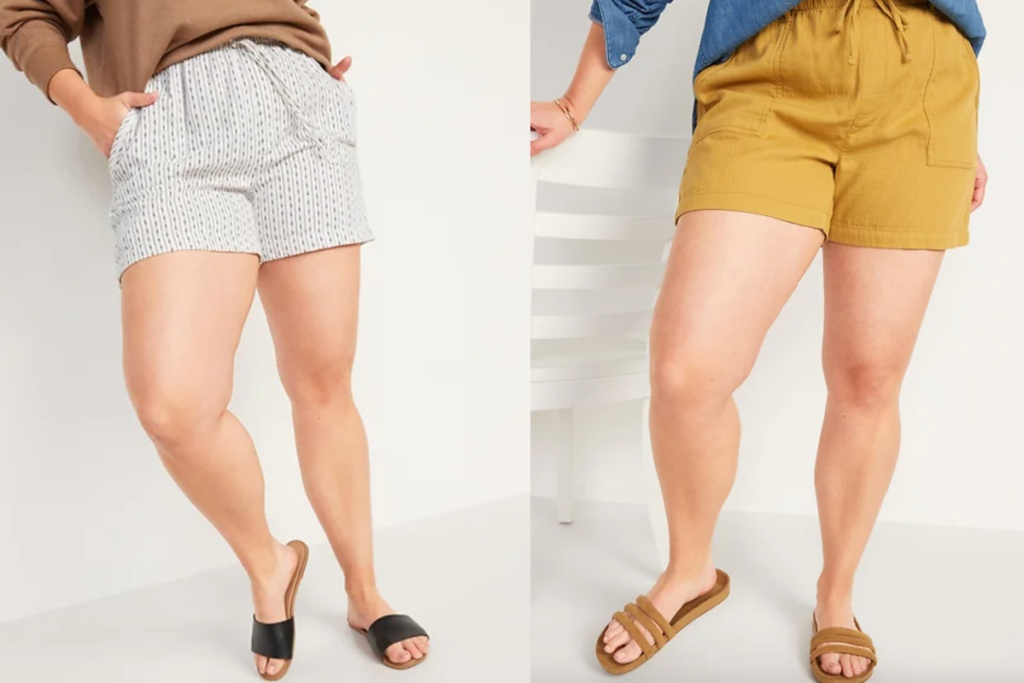 2 colors old navy twill shorts