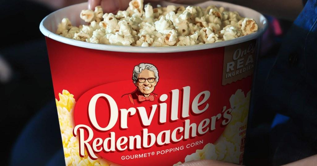 orville redenbacher movie tub