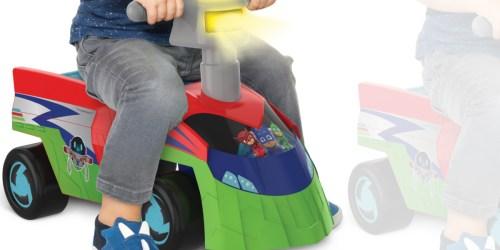 PJ Masks Seeker Ride-On & Car Track Just $21 on Walmart.com (Regularly $35)
