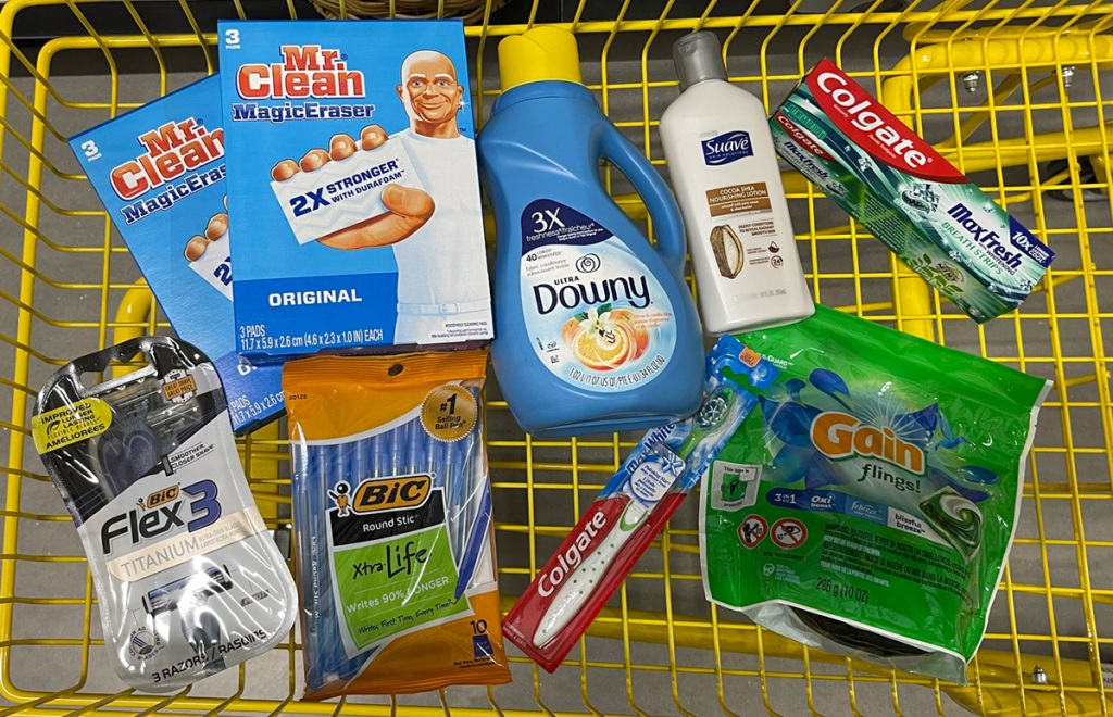 products in dollar general shopping cart