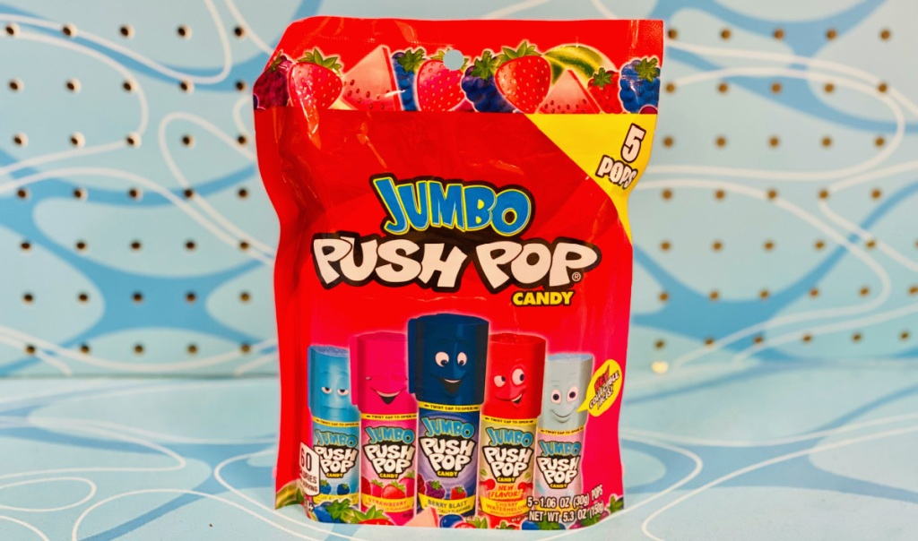 push-pop 90s candy